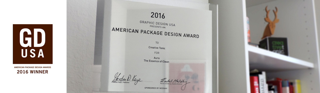 Aura of Success at American Package Design Awards