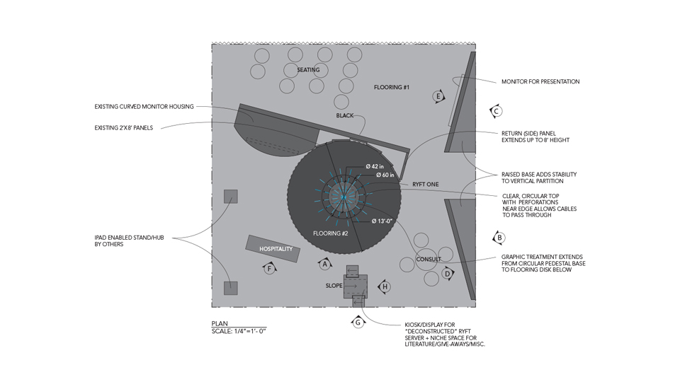 Exhibition Booth Floor Plan : Standing out in a crowd the art of tradeshow booth design